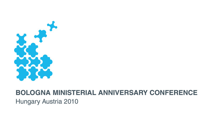 Logo for 2010 Bologna Ministerial Anniversary Conference in Budapest and Vienna