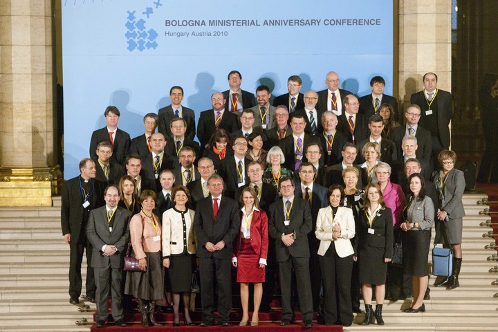 Bologna Process 2010 Ministerial Conference - Family Photograph