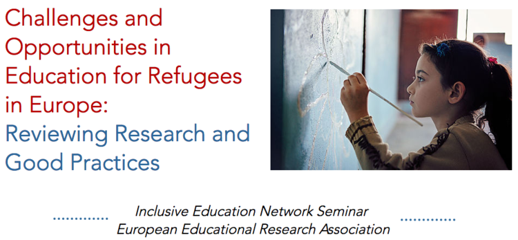 Seminar on Education for Refugees - banner