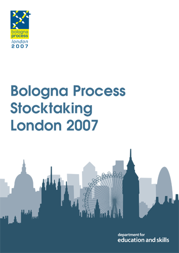 Bologna Process Stocktaking report cover London 2007